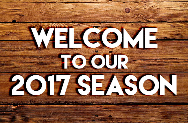 Announcing our 2017 Season